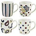4 Cosmopolitan Mugs