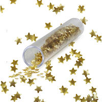 Cake Decorating Sprinkles - 1.4g Edible Gold Stars