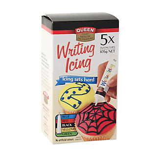 Coloured Writing Icing Set
