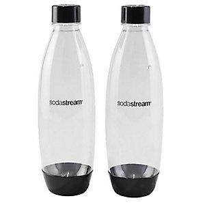 2 x 1 Litre plastic Carbonation Bottles