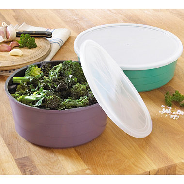 Colourful Ceramica 4-Piece Nesting Pan Set