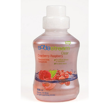 SodaStream Cranberry-Raspberry Concentrate
