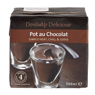 Devilishly Delicious Pot Au Chocolat