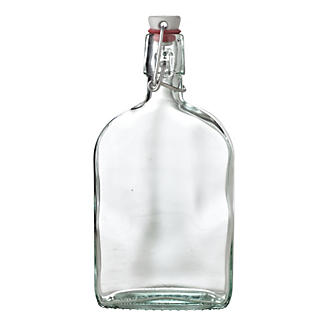 Airtight Swing Top Glass Sloe Gin Bottle & Ceramic Cap 500ml alt image 1