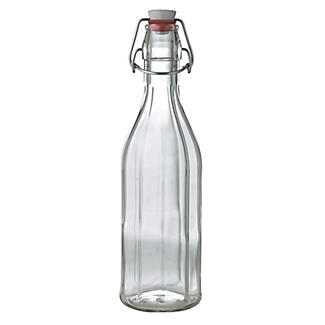Airtight Swing Top Glass Gifting Bottle & Ceramic Cap 500ml alt image 1