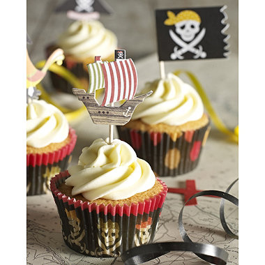 Pirate Party Cupcake Cake by Lakeland