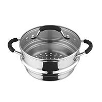 Stainless Steel Universal Steamer