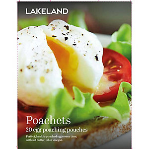 Lakeland 20 Poachets Disposable Egg Poaching Pouches