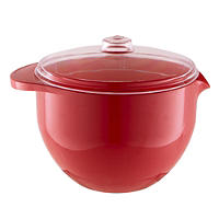 Red Microwave Lidded Bowl