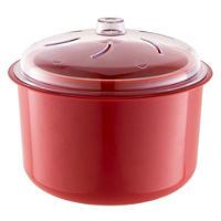Red Microwave Multi Steamer
