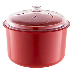 Red Microwave Multi Steamer