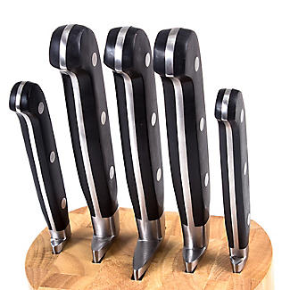 Lakeland Fully Forged Stainless Steel 5-Piece Knife Block alt image 3