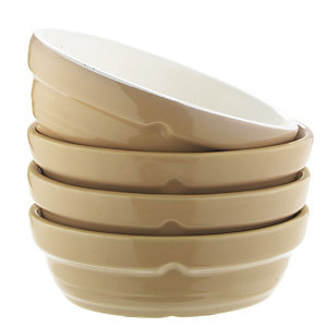 Mason Cash 4 Small Oval Dishes