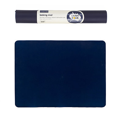 I Can Cook Silicone Baking Mat Blue In Baking