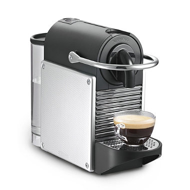 nespresso magimix pixie silver in coffee makers at. Black Bedroom Furniture Sets. Home Design Ideas