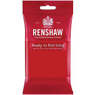 Renshaw Ready to Roll Coloured Icing - 250g Red