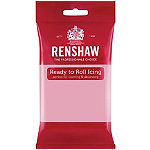 Renshaw Ready to Roll Coloured Icing - 250g Pink