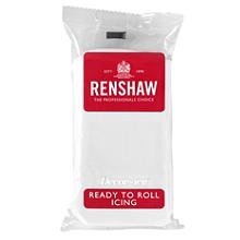 Renshaw Ready to Roll Coloured Icing - 500g White