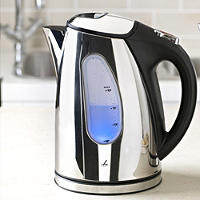 Lakeland Polished Stainless Steel Jug Kettle