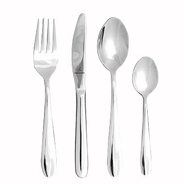 Alexandra 4-Piece Children's Cutlery Set
