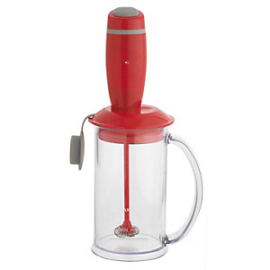 Red Mini Milk Frother