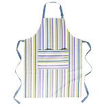 I Can Cook Adult's Striped Apron