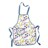 I Can Cook Childrens PVC Apron - Utensils