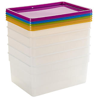 5 Stack a Boxes Food Storage Containers 2.5L alt image 3