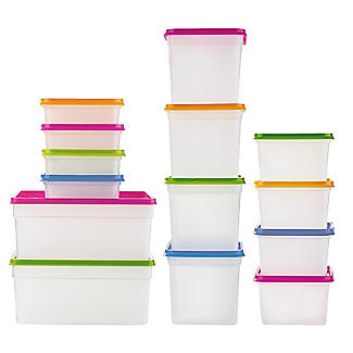 10 Stack a Boxes Food Storage Containers 1.2L alt image 2