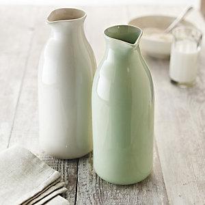 delicious. Ivory Water/Milk Jug
