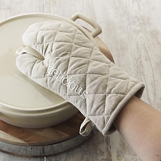 delicious. Oven Glove