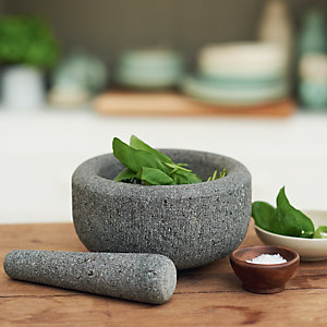 delicious. Granite Pestle & Mortar