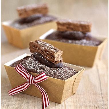 12 Mini Loaf Moulds In Cake Moulds At Lakeland