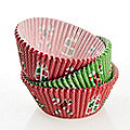 75 Christmas Cupcake Cases
