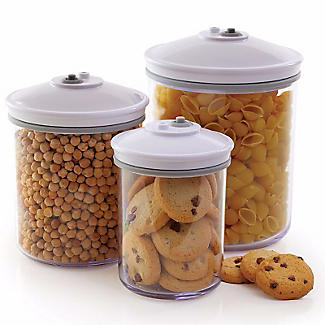 3 FoodSaver® Food Canisters