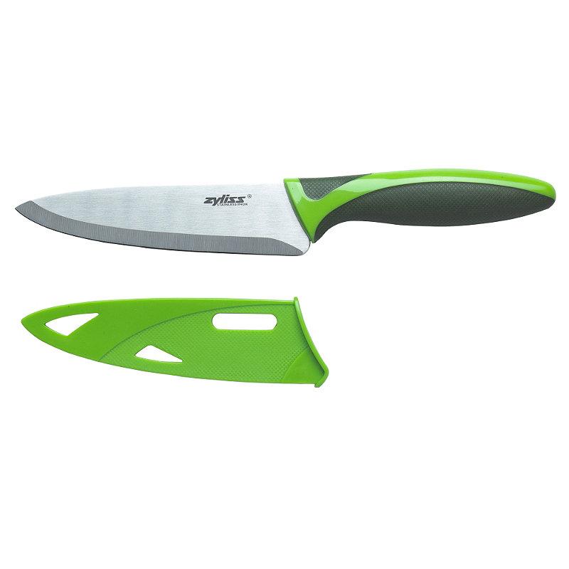 Zyliss® Stainless Steel Utility Kitchen Knife & Sheath