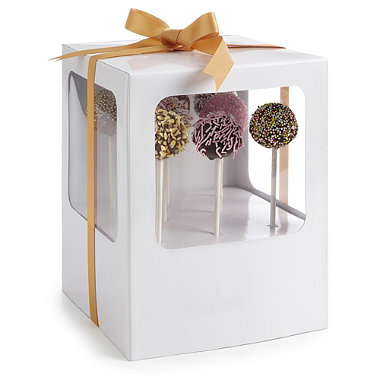 2 Cake Pop Gift Boxes