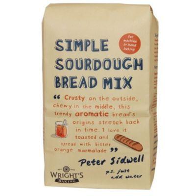 Wright S Simple Sourdough Bread Mix 5 X 500g