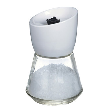 No-Spill Salt Mill