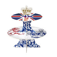 Street Party 2-Tier Cake Stand