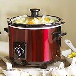 Lakeland Metallic Red 1.5 litre Slow Cooker