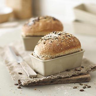 4 Ceramic Mini Loaf Pans Lakeland
