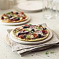 4 Ceramic Pizza Plates