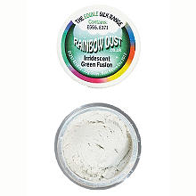Cake Decorating Edible Silk Powder - 15g Iridescent Green