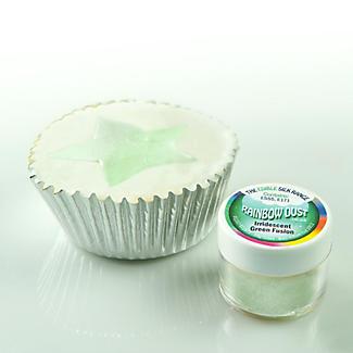 Cake Decorating Edible Silk Powder - 15g Iridescent Green alt image 2