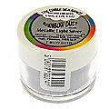 Cake Decorating Edible Silk Powder - 5g Metallic Light Silver