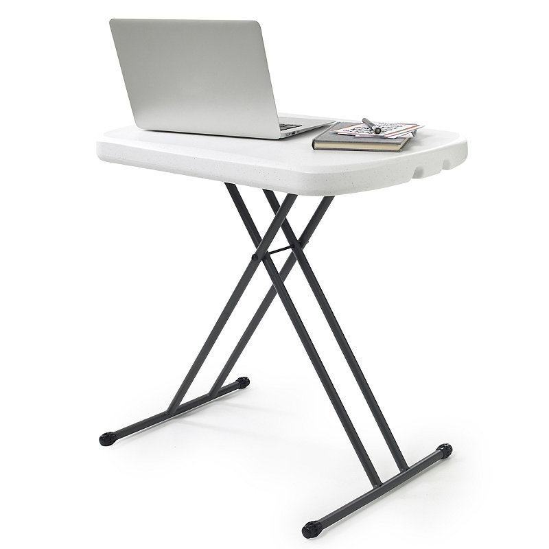 Foldable & Height Adjustable Handy Wipe Clean Table