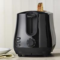 Elementi Black 2 Slice Toaster