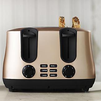 Elementi Latte 4 Slice Toaster