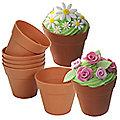 Lakeland 6 Flowerpot Muffin Cases